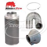 RVK Fan & Rhino Pro Carbon Filter Pack